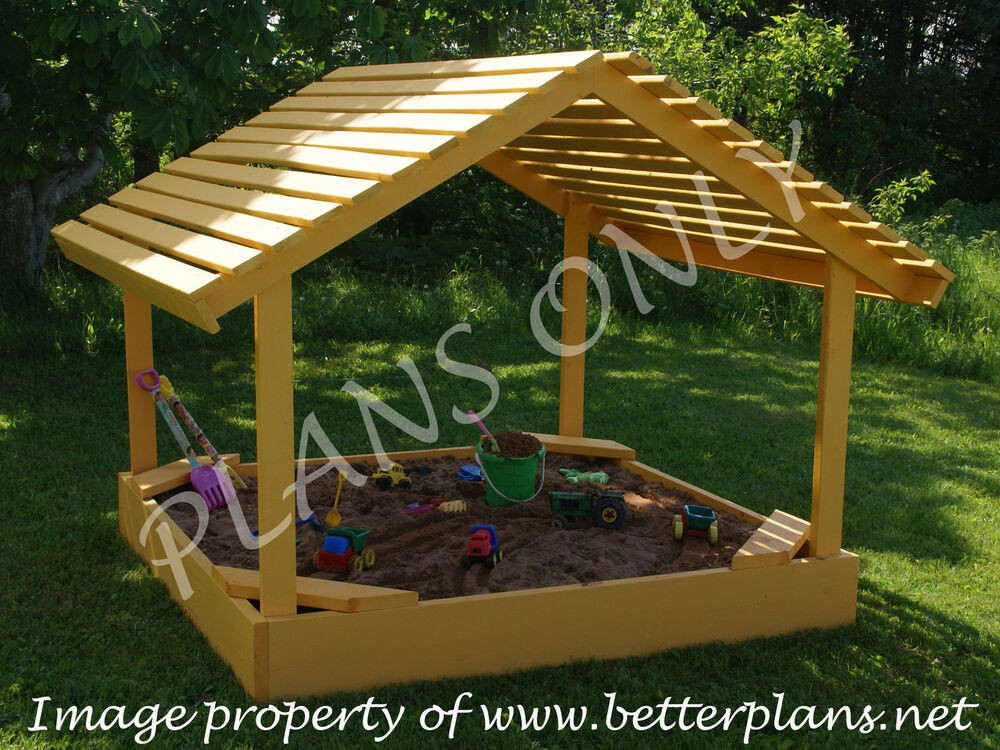 Best ideas about DIY Sandbox With Cover . Save or Pin PLANS to build a 6 x 6 covered sandbox sand box Now.