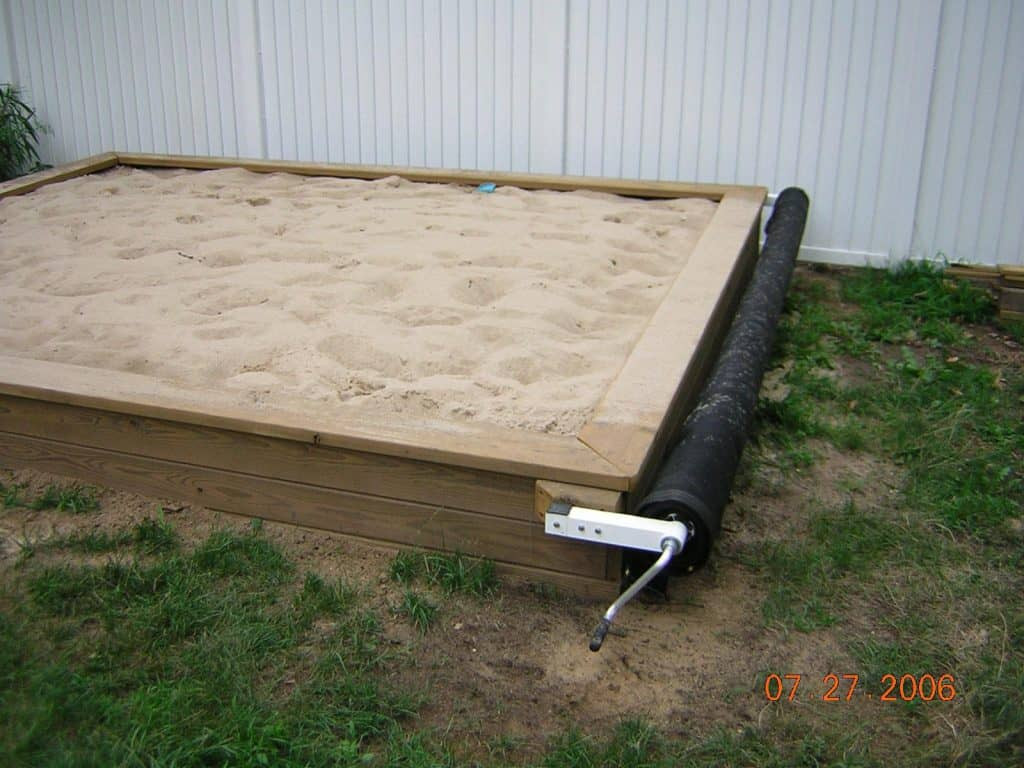 Best ideas about DIY Sandbox With Cover . Save or Pin Building A Sandbox With Cover Wooden Countertops Diy Now.