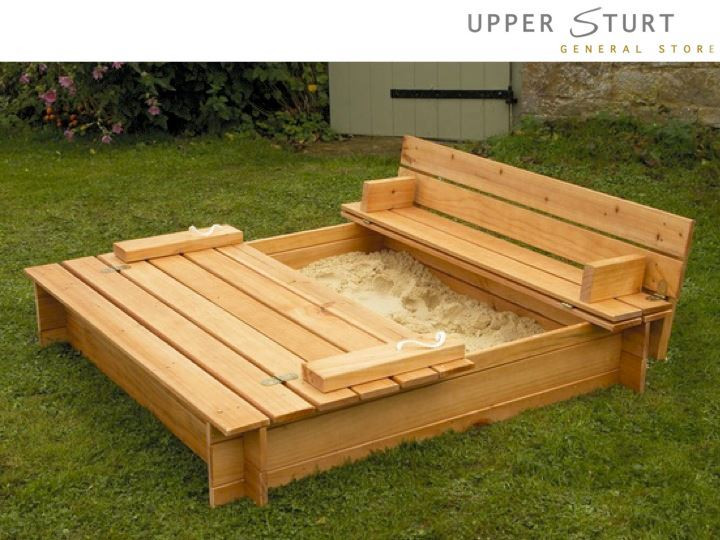Best ideas about DIY Sandbox With Cover . Save or Pin DIY Sandbox My Honeys Place Now.