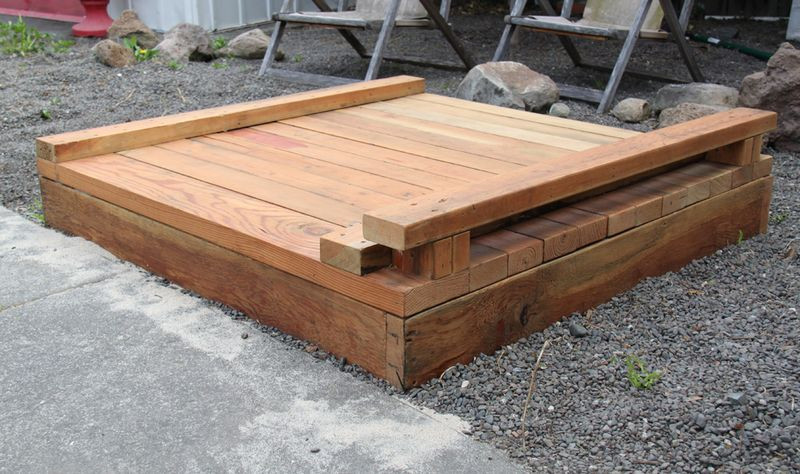 Best ideas about DIY Sandbox With Cover . Save or Pin Closed Now.