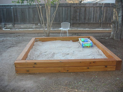 Best ideas about DIY Sandbox With Cover . Save or Pin 35 DIY Sandboxes Ideas Your Kids Will Love Now.
