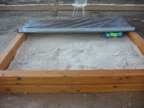 Best ideas about DIY Sandbox With Cover . Save or Pin The Modern Family Aesthetic How to build a sandbox Now.