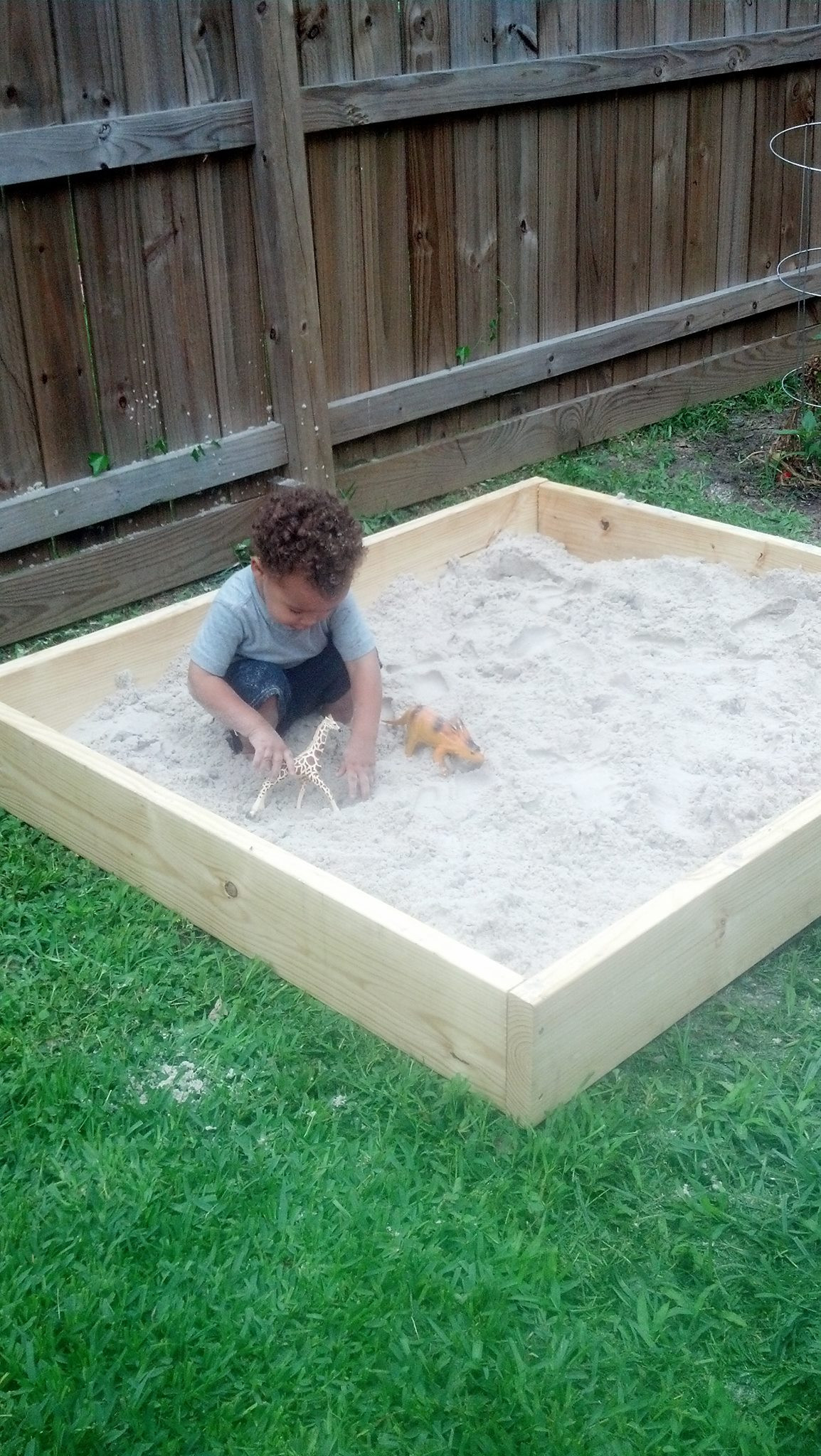 Best ideas about DIY Sandbox With Cover . Save or Pin DIY Sandbox Now.