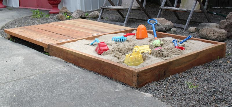 Best ideas about DIY Sandbox With Cover . Save or Pin How to Build a Sandbox 17 DIY Plans Now.