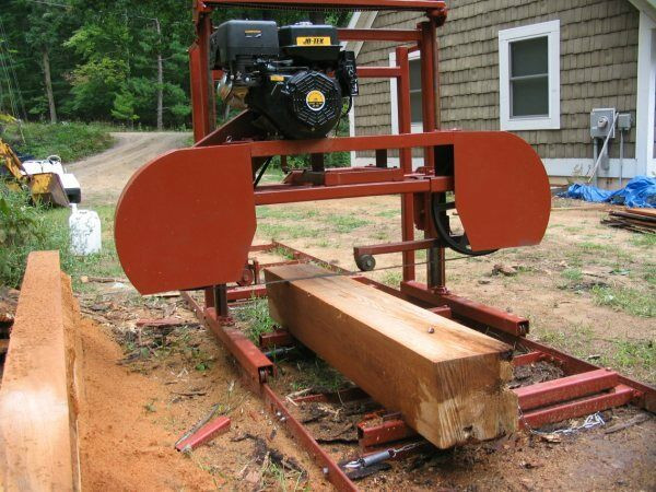 """Best ideas about DIY Sawmill Kit . Save or Pin Sawmill Portable Bandsaw mill KIT 36"""" X 16 $1 295 00 Now."""