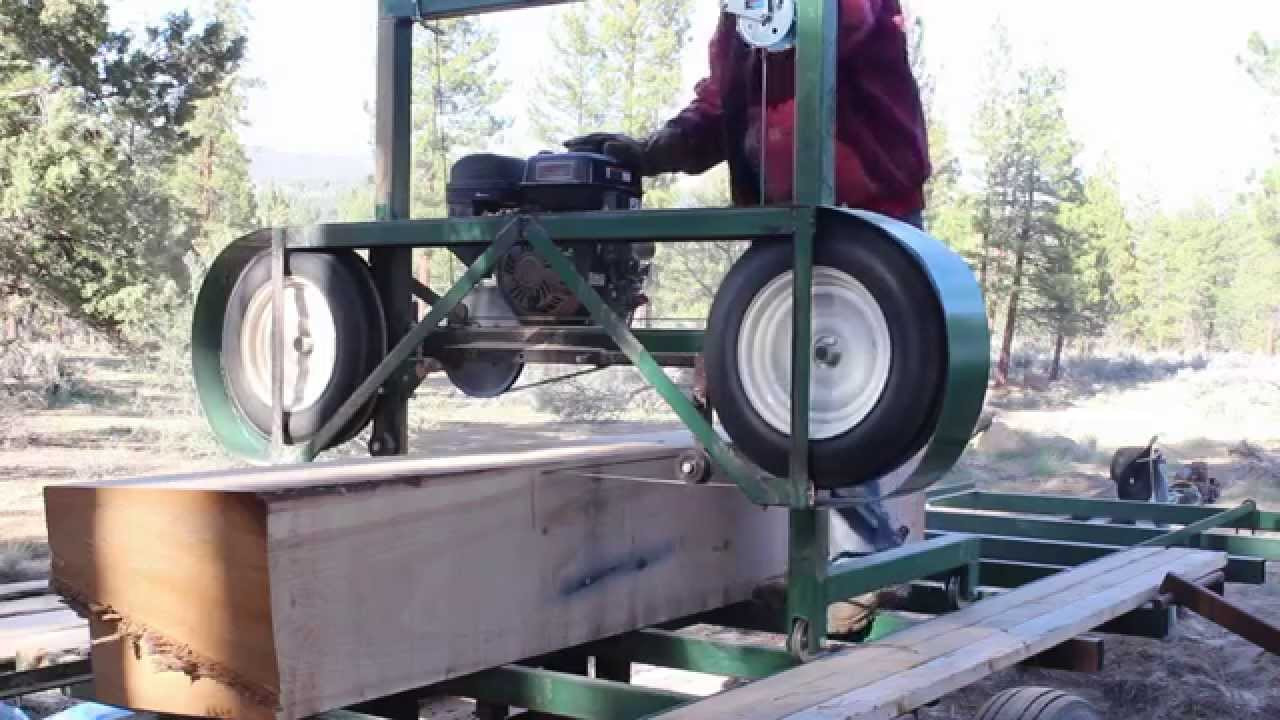 Best ideas about DIY Sawmill Kit . Save or Pin Homemade Portable Sawmill Build pt 5 Country Living Now.