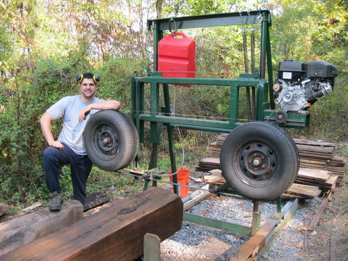 Best ideas about DIY Sawmill Kit . Save or Pin Homemade Bandsaw Mill by bryguy22 LumberJocks Now.