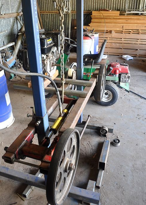 Best ideas about DIY Sawmill Kit . Save or Pin Image result for homemade sawmill plans Now.