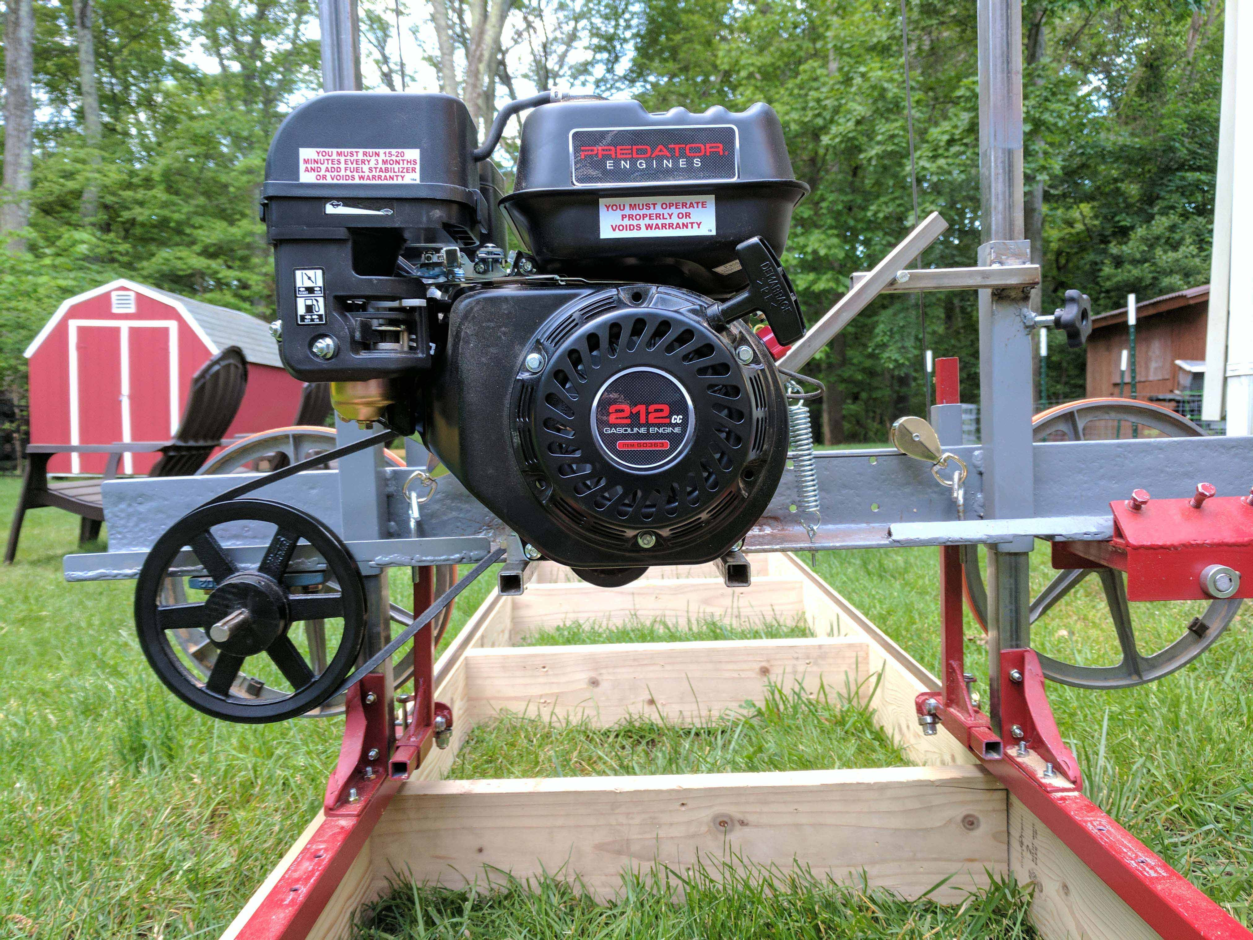 Best ideas about DIY Sawmill Kit . Save or Pin How I Built a Sawmill in the Backyard Now.