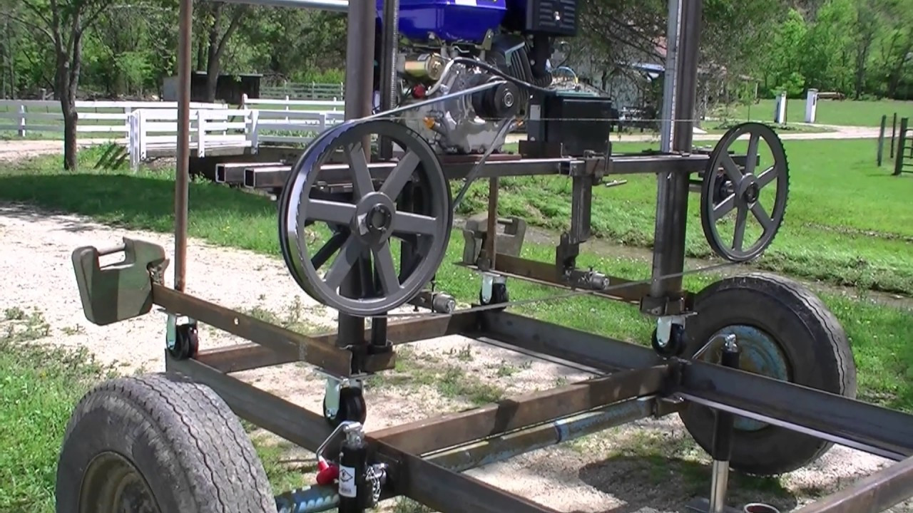 Best ideas about DIY Sawmill Kit . Save or Pin 168 RSW Homemade Bandsaw Mill Part 1 Now.