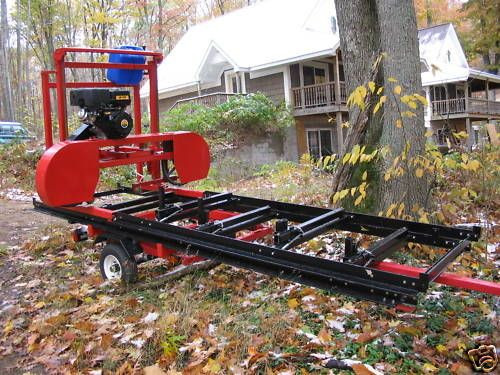 """Best ideas about DIY Sawmill Kit . Save or Pin Details about Sawmill Portable Bandsaw mill KIT 36"""" X 16 Now."""