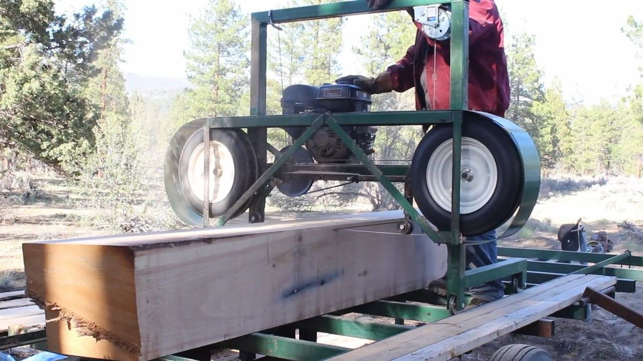Best ideas about DIY Sawmill Kit . Save or Pin How to build a Homemade Portable Sawmill from Start to Now.