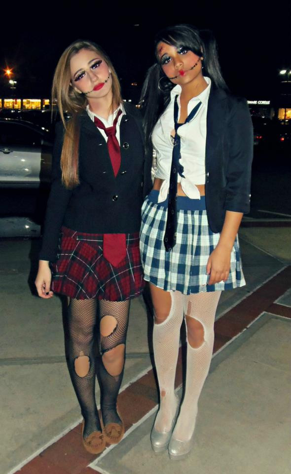 Best ideas about DIY School Girl Costume . Save or Pin ♥BbY♥ beauty by you DIY Scary School Girl Now.