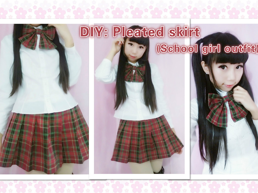 Best ideas about DIY School Girl Costume . Save or Pin DIY School girl outfit pleated skirt by YumiKing on DeviantArt Now.