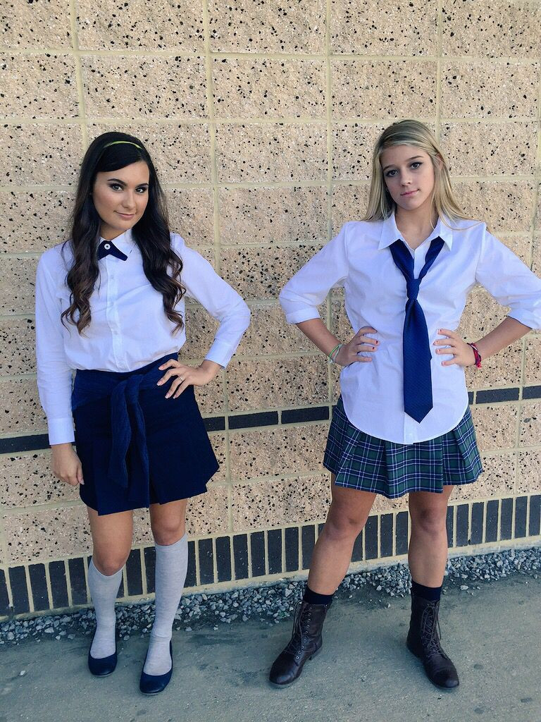 Best ideas about DIY School Girl Costume . Save or Pin Blair and Serena costume Now.