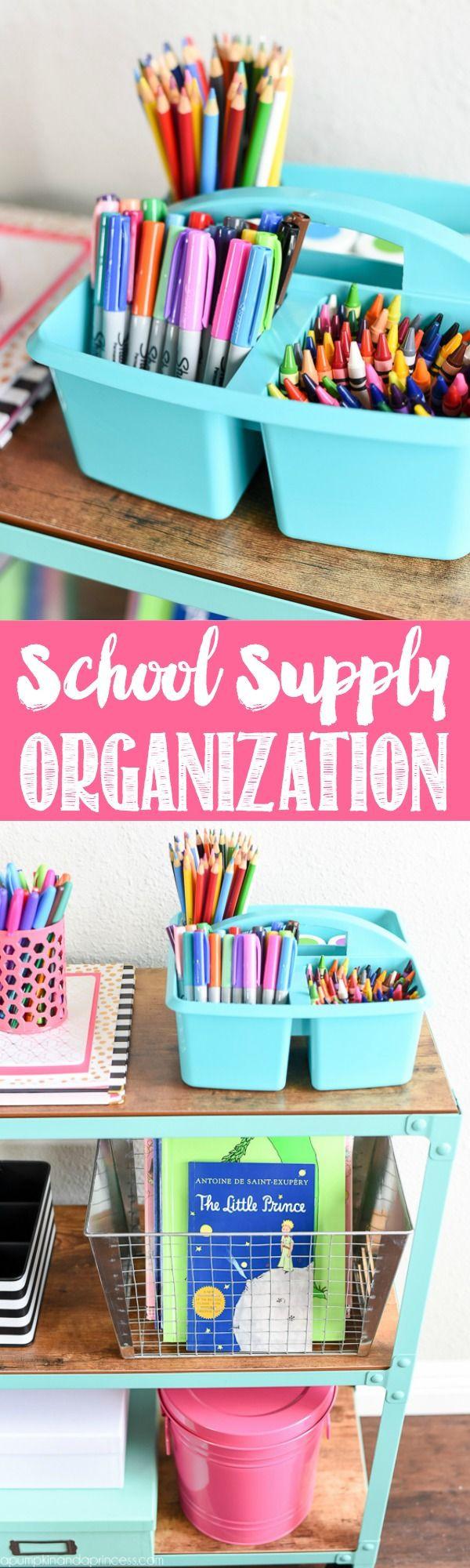 Best ideas about DIY School Organization Ideas . Save or Pin 25 best ideas about School desk organization on Pinterest Now.