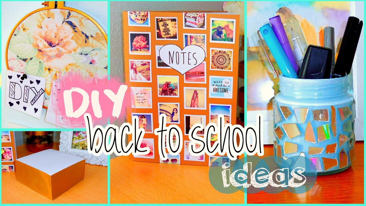 Best ideas about DIY School Organization Ideas . Save or Pin DIY back to school ideas DIY organization Tumblr Now.