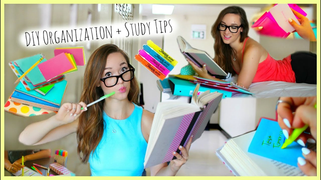 Best ideas about DIY School Organization Ideas . Save or Pin Back to School ♡ Study Tips DIY Organization School Now.