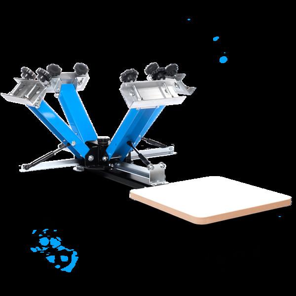 Best ideas about DIY Screen Printing Press . Save or Pin DIY Print Shop Screen Printing Press Platen Bracket – DIY Now.