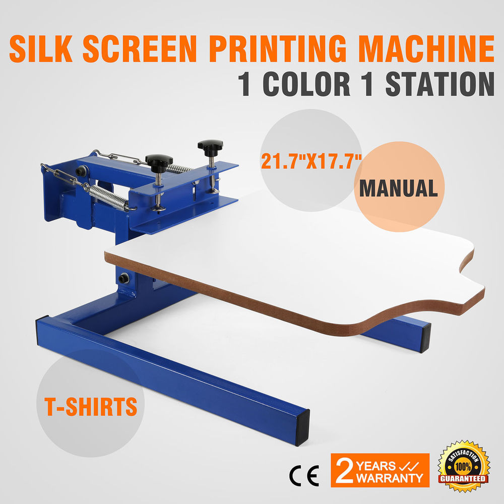 Best ideas about DIY Screen Printing Press . Save or Pin 1 color 1 station Screen Printing Machine DIY T Shirt Now.