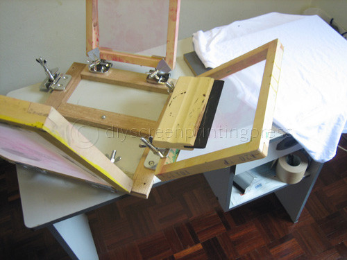 Best ideas about DIY Screen Printing Press . Save or Pin How to Build a Homemade Screen Printing Press For Under $50 Now.