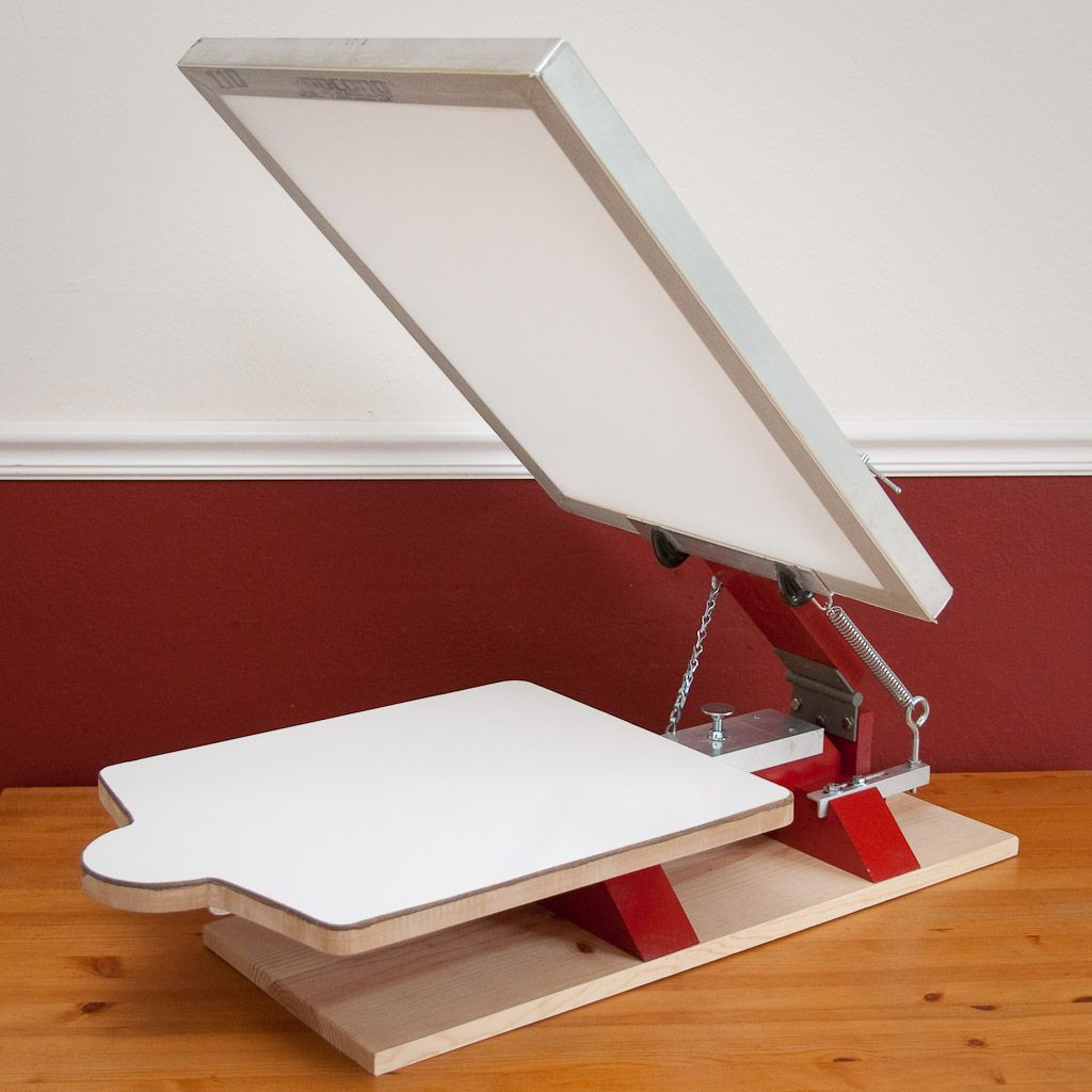 Best ideas about DIY Screen Printing Press . Save or Pin Printing Press on Pinterest Now.