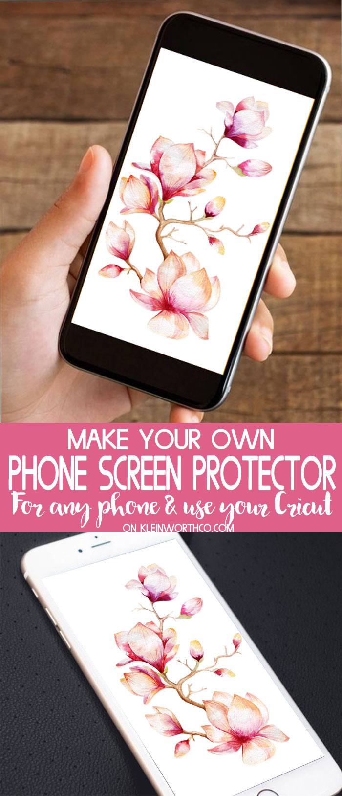 Best ideas about DIY Screen Protector . Save or Pin DIY Phone Screen Protector Kleinworth & Co Now.
