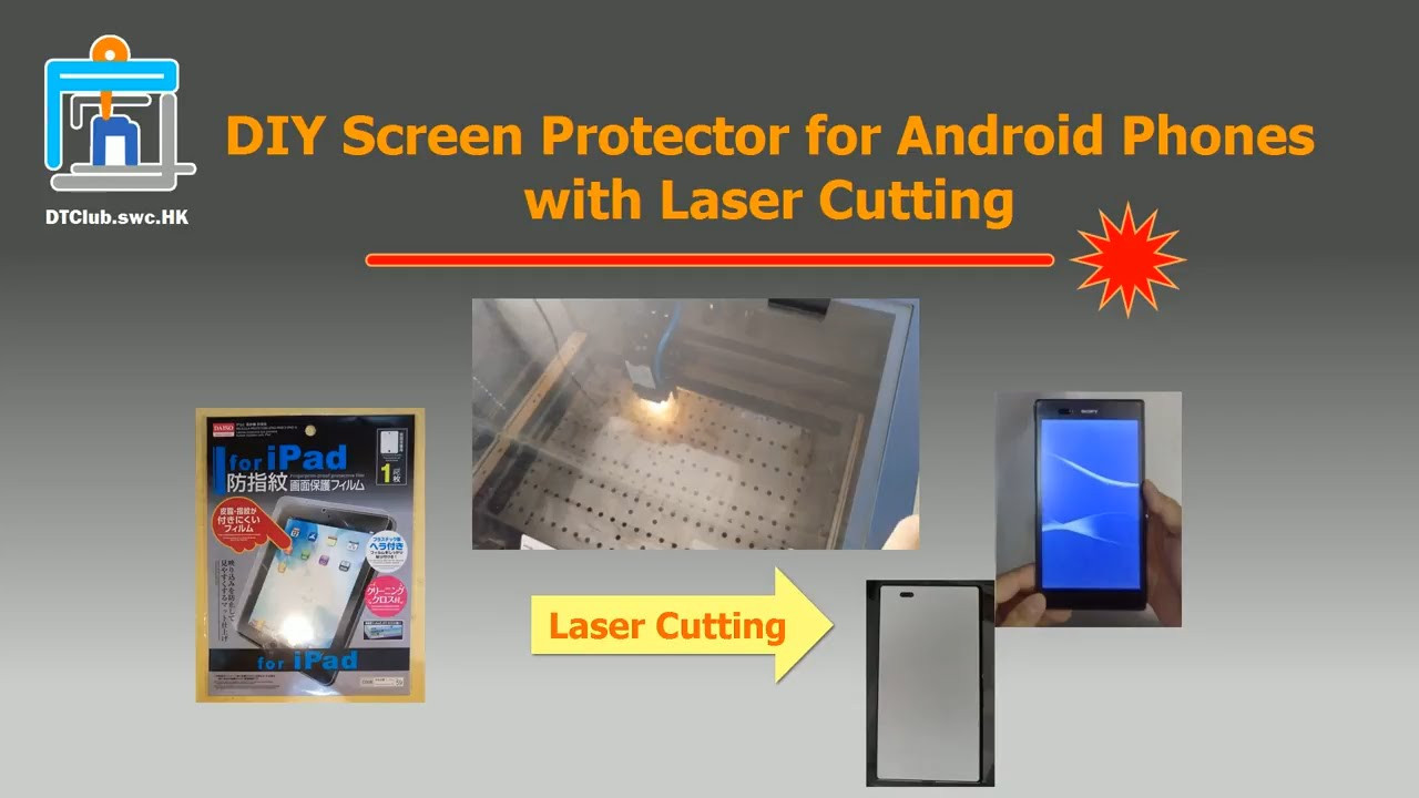 Best ideas about DIY Screen Protector . Save or Pin DIY Screen Protector for Android Phones with Laser Cutting Now.