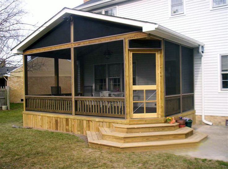 Best ideas about DIY Screened In Porch . Save or Pin diy decks and porch for mobile homes Now.