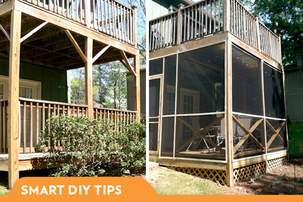 Best ideas about DIY Screened In Porch . Save or Pin What I Learned Building a Screened In Porch Now.