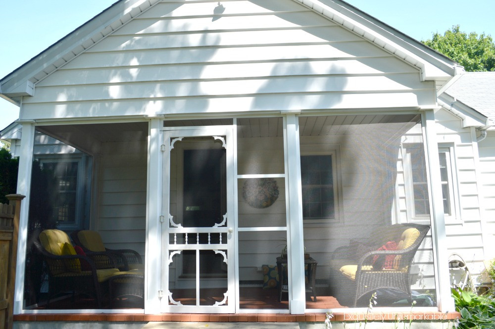 Best ideas about DIY Screened In Porch . Save or Pin DIY Screened In Porch Our Bug Free Sanctuary Exquisitely Now.