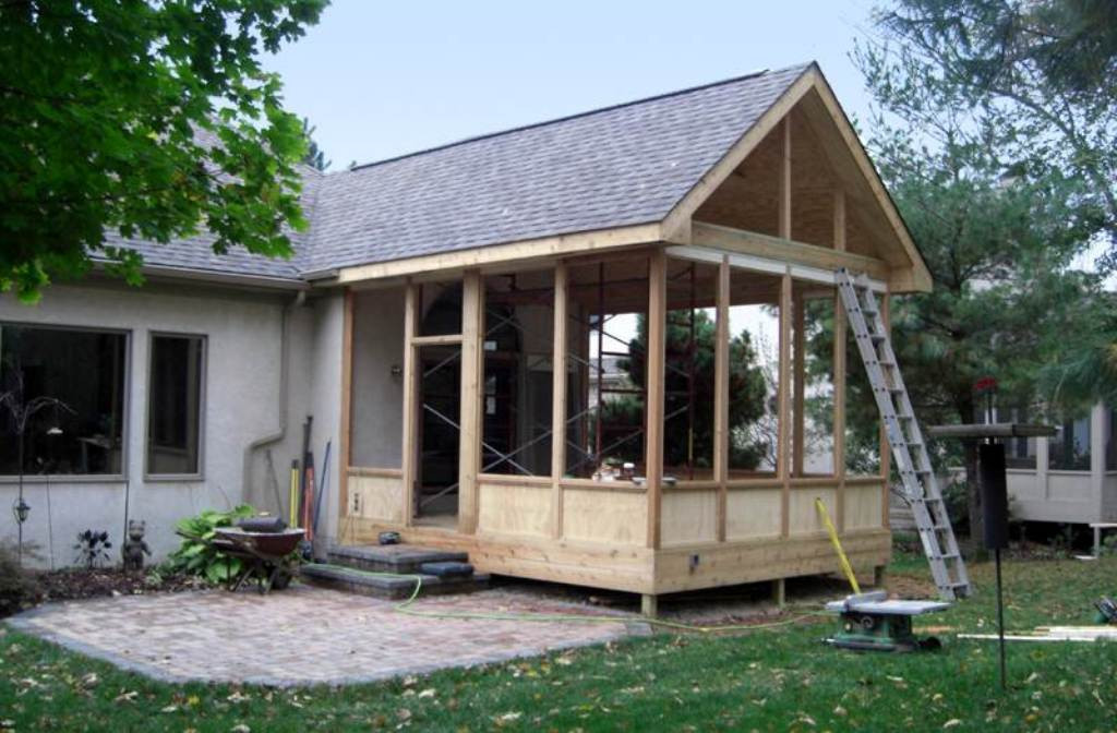 Best ideas about DIY Screened In Porch . Save or Pin Screened Porch Plans Diy Now.
