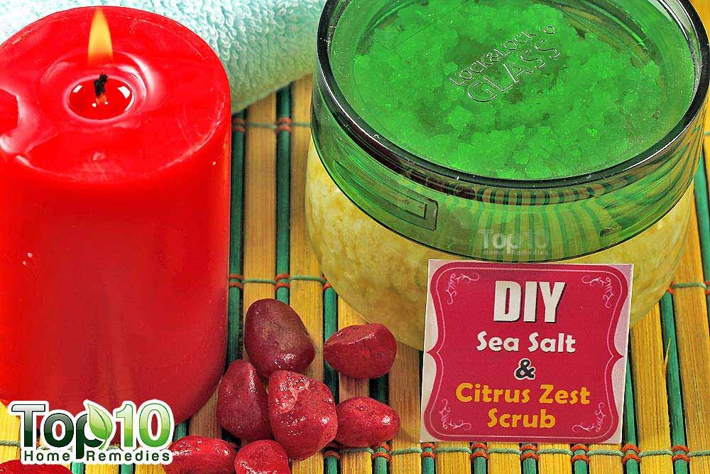 Best ideas about DIY Sea Salt Scrub . Save or Pin DIY Homemade Sea Salt Scrubs for Your Body Now.