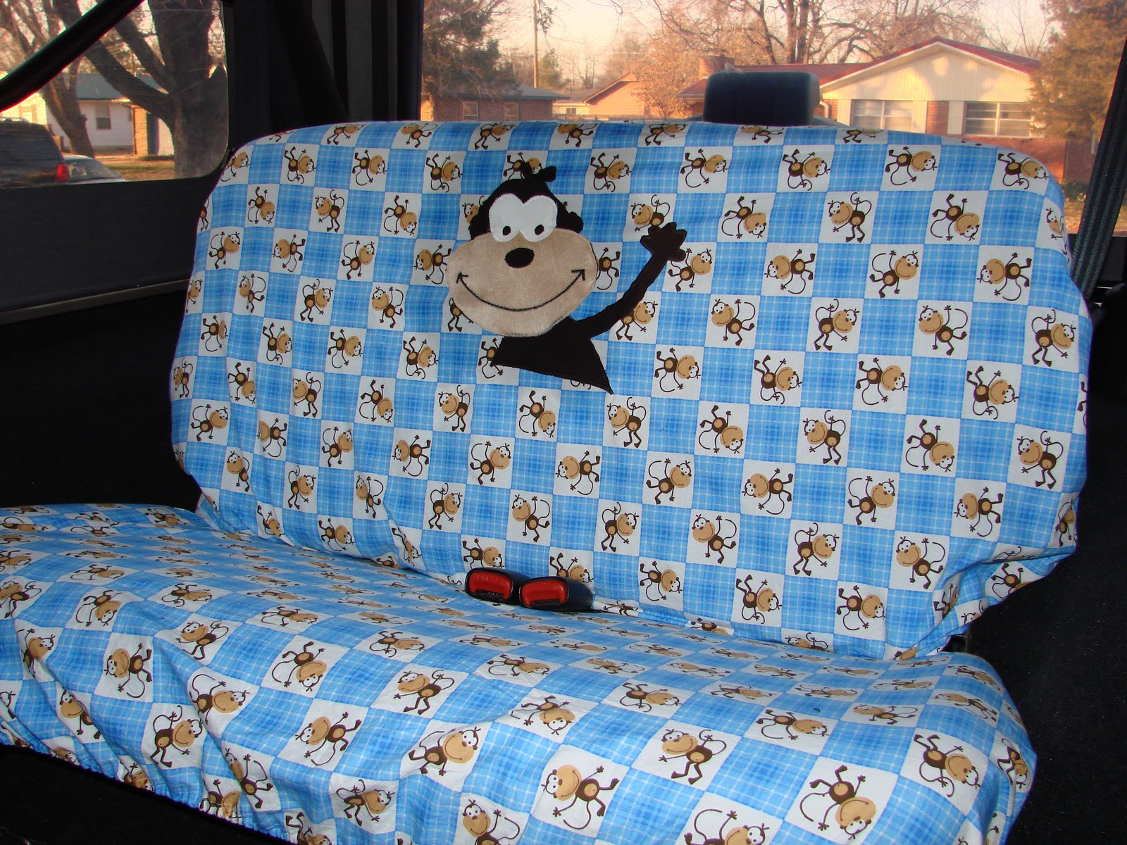 Best ideas about DIY Seat Covers . Save or Pin modestmaiden62 DIY seat cover for our new Jeep Now.