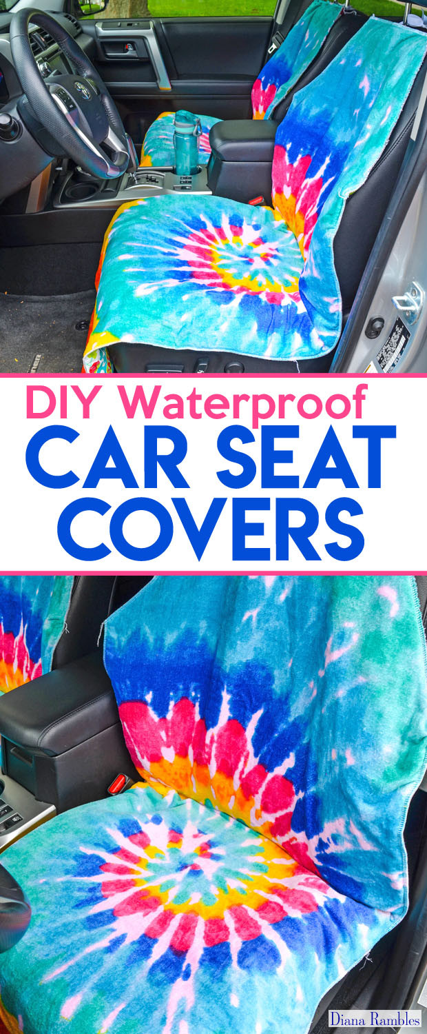 Best ideas about DIY Seat Covers . Save or Pin DIY Waterproof Seat Cover Sewing Tutorial Now.