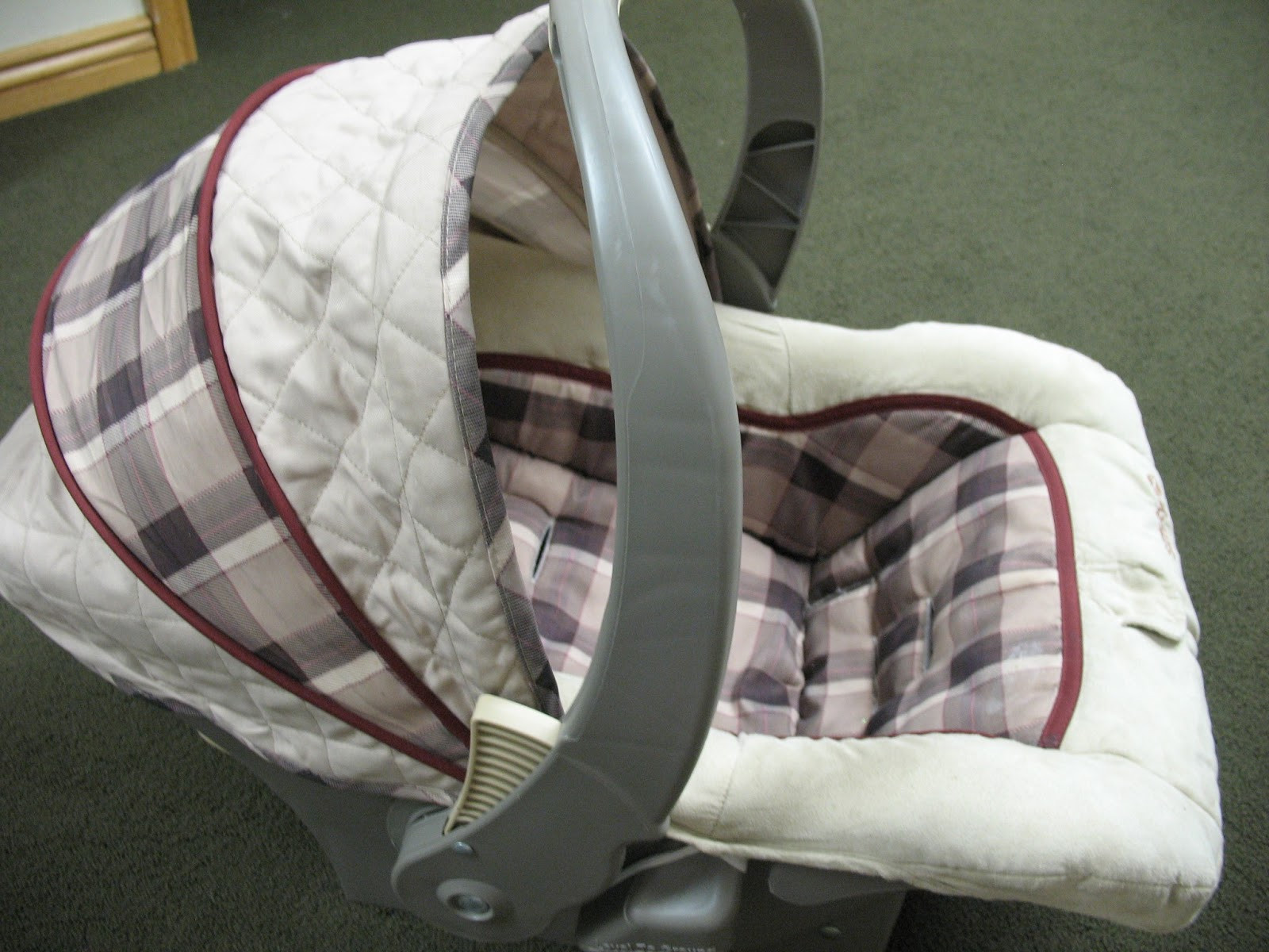 Best ideas about DIY Seat Covers . Save or Pin Custom Car Seat Cover DIY thecraftpatchblog Now.