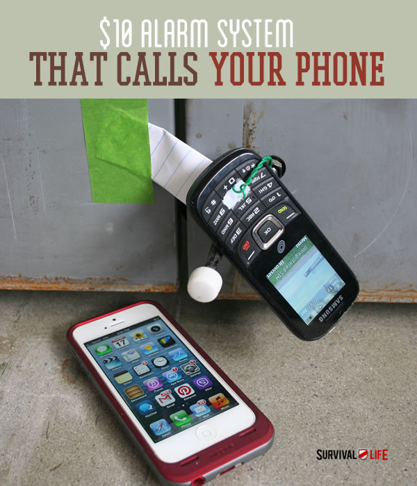 Best ideas about DIY Security Systems . Save or Pin $10 DIY Alarm System That Calls Your Cellphone Now.