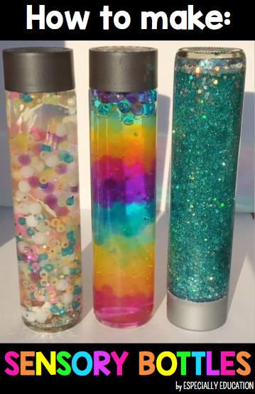 Best ideas about DIY Sensory Bottles . Save or Pin DIY Sensory Bottles Behavior management Now.