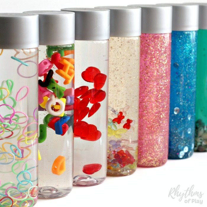 Best ideas about DIY Sensory Bottles . Save or Pin DIY Calm Down Sensory Bottles 101 Rhythms of Play Now.