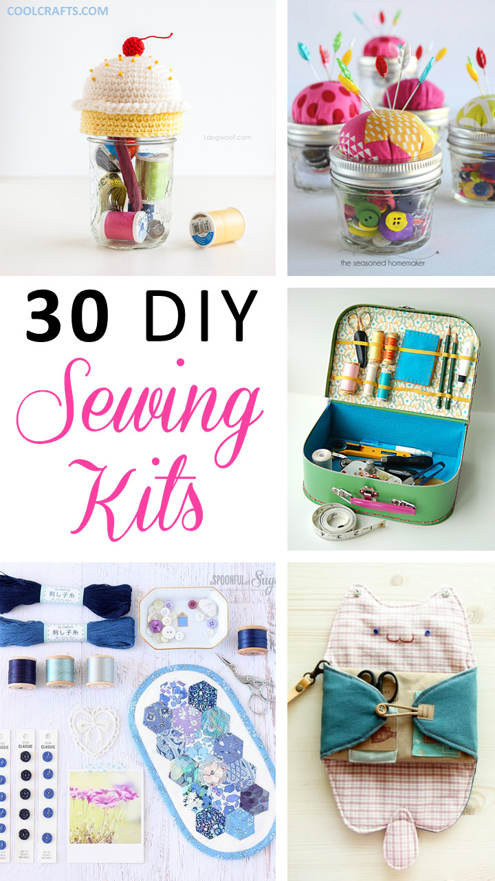 Best ideas about DIY Sewing Kit . Save or Pin Sewing Kits 30 Ideas Every Sewing Hobbyist Will Love Now.
