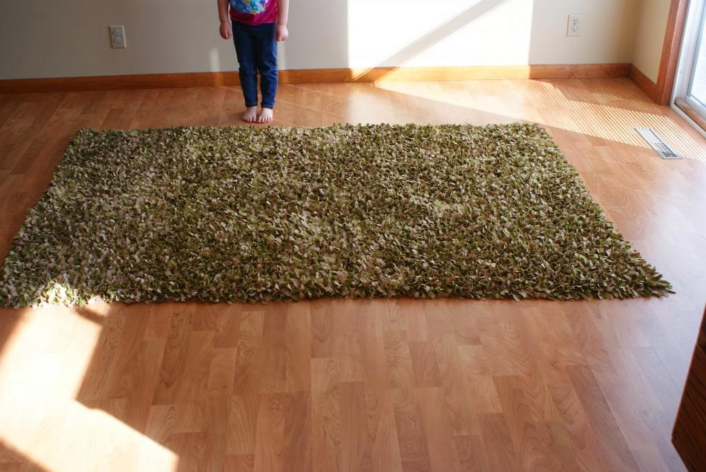 Best ideas about DIY Shag Rug . Save or Pin Mostly Plant Based Mama DIY No Sew Shag Rug Now.
