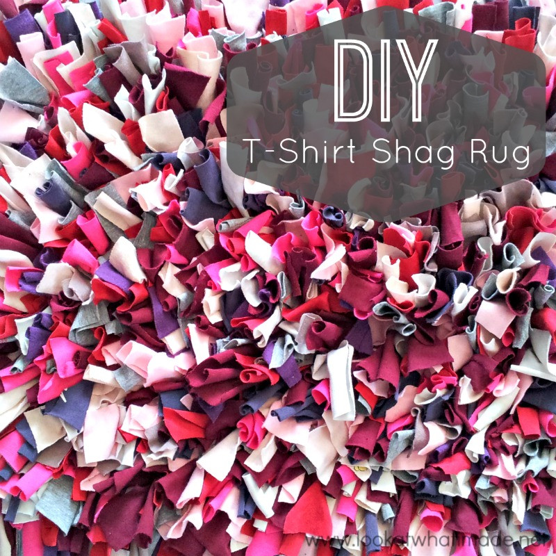 Best ideas about DIY Shag Rug . Save or Pin DIY T Shirt Shag Rug ⋆ Look At What I Made Now.