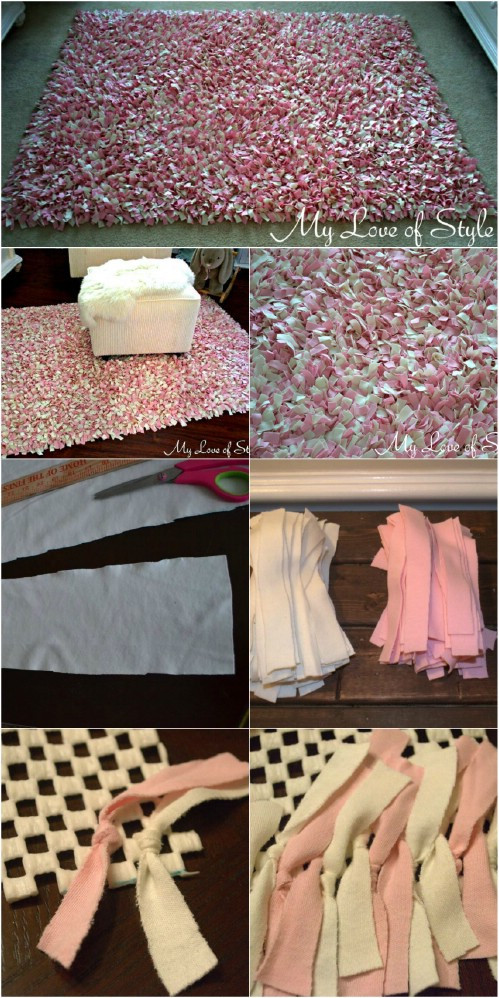 Best ideas about DIY Shag Rug . Save or Pin Want a Cozy Home These 25 DIY Projects will bring the Now.