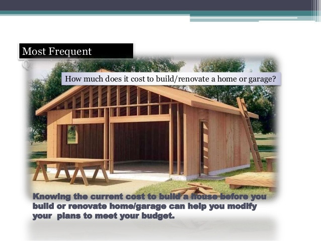 Best ideas about DIY Shed Cost Calculator . Save or Pin How To Estimate Garage Building Costs Now.