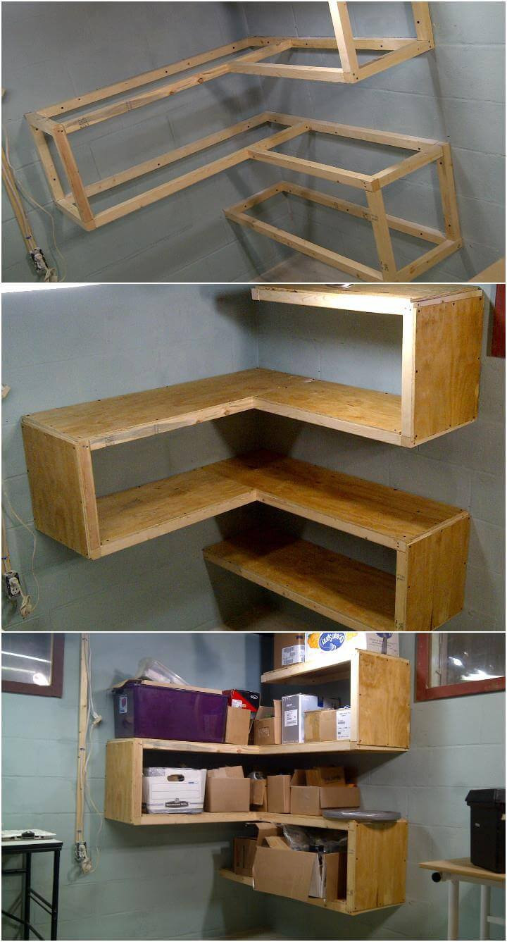 Best ideas about DIY Shelf Organizer . Save or Pin 50 DIY Shelves Build Your own Shelves DIY & Crafts Now.