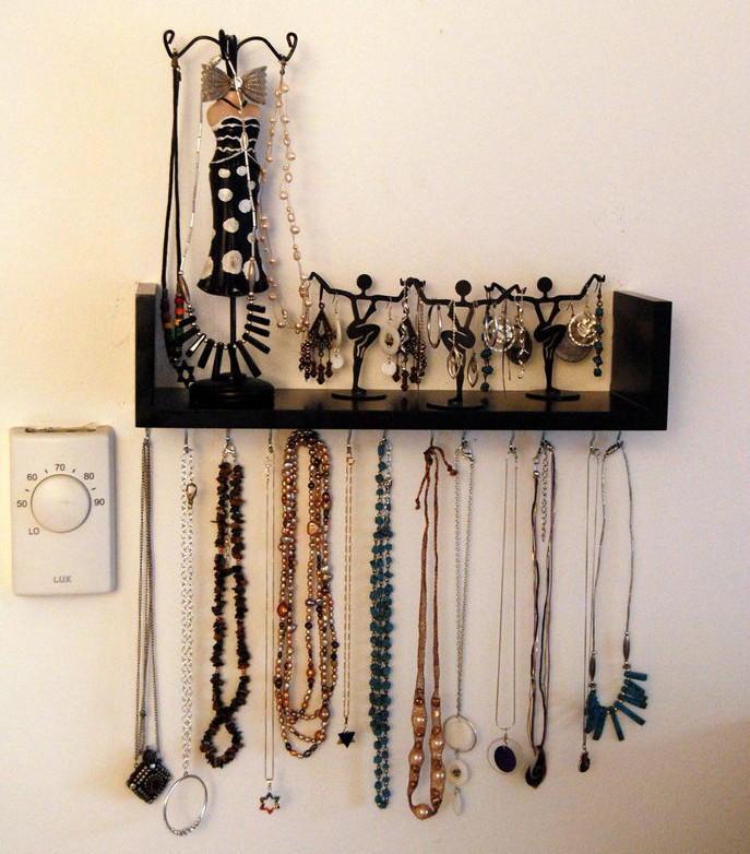 Best ideas about DIY Shelf Organizer . Save or Pin Wall Mounted DIY Jewelry Shelf Organizer Now.