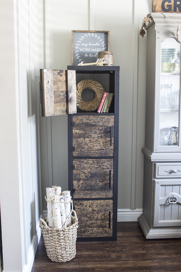 Best ideas about DIY Shelf Organizer . Save or Pin Ikea Hack DIY Rustic Cube Shelves Now.