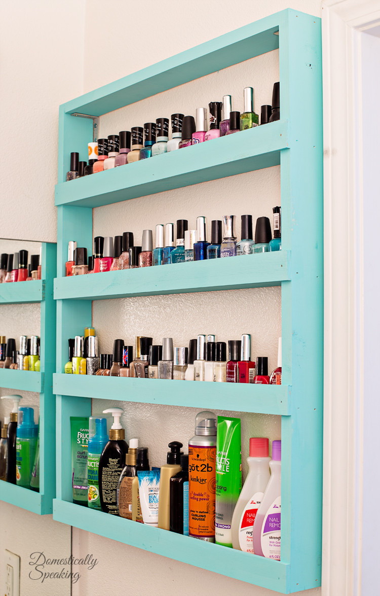Best ideas about DIY Shelf Organizer . Save or Pin Ingenious Ideas & DIYs for Bathroom Organization & Storage Now.