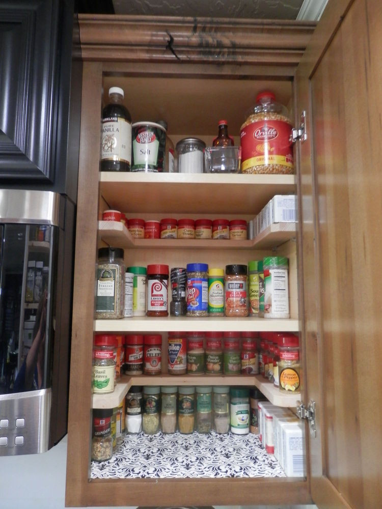 Best ideas about DIY Shelf Organizer . Save or Pin DIY Spicy Shelf organizer Now.