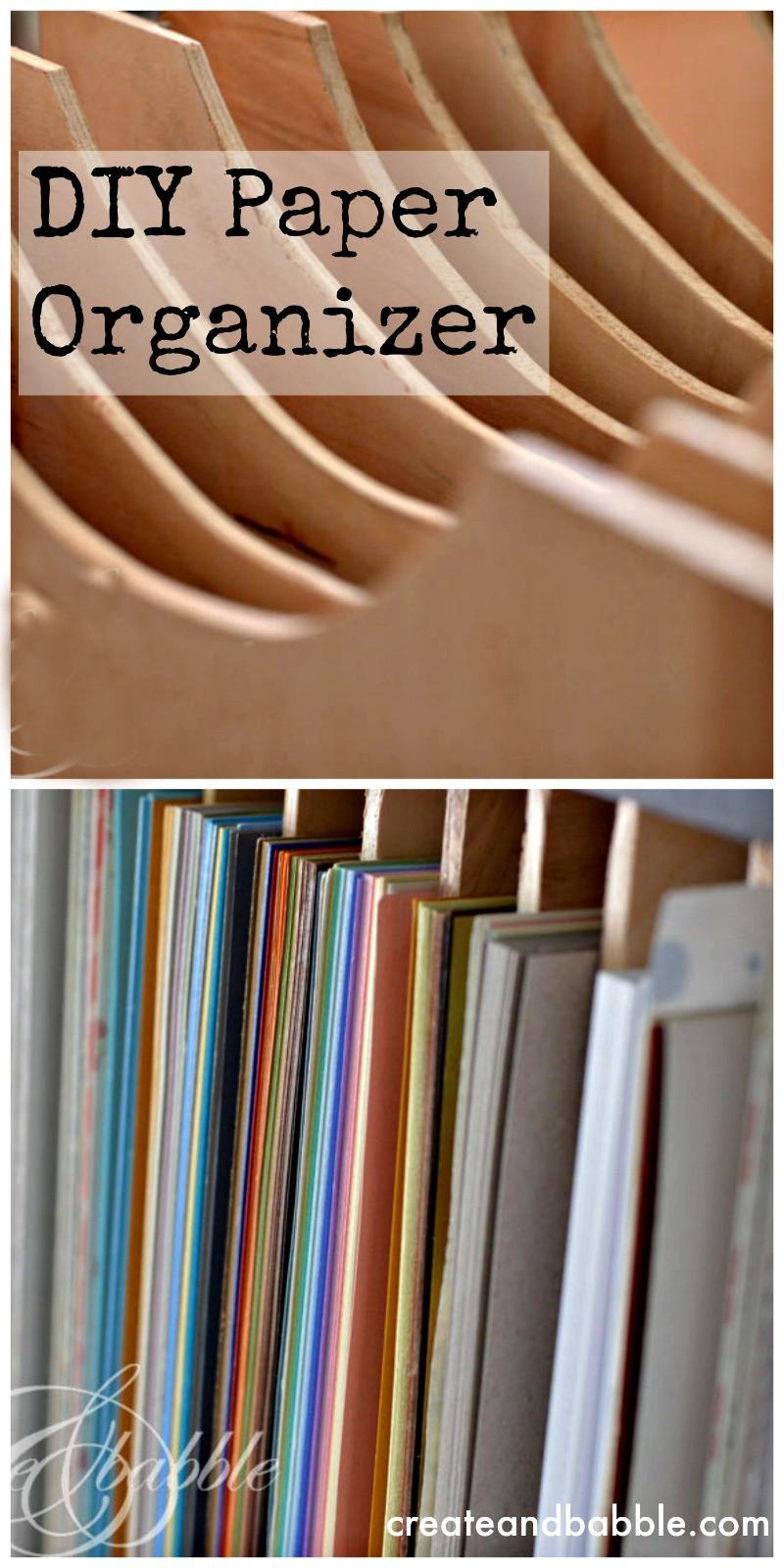 Best ideas about DIY Shelf Organizer . Save or Pin DIY Paper Organizer Someday Crafts Now.